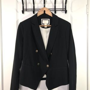 Forever 21 Black Blazer Large